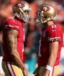 Colin Kaepernick and Alex Smith