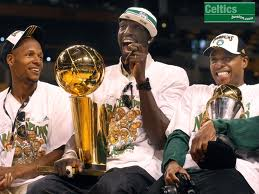 ray allen, kevin garnett, paul pierce