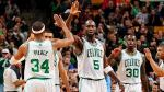 boston celtics kevin garnett paul pierce brandon bass