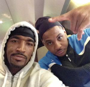 carmelo anthony and jr smith