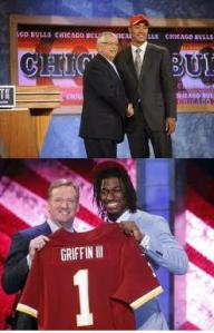 rg3 and derrick rose drafted