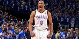 ussell westbrook oklahoma city thunder