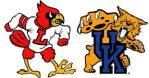 kentucky wildcats and louisville cardinals