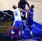 tony parker sprains ankle
