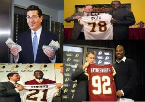 Washington Redskins Spending Spree