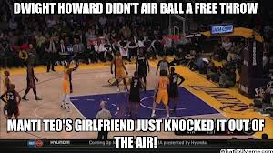 dwight howard air balls free throw