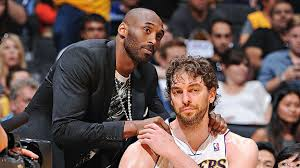 Kobe Bryant and Paul Gasol Los Angeles Lakers
