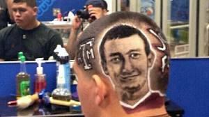 johnny football haircut