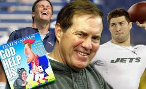 tim tebow bill belichick and tom brady