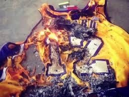 d12 jersey burning