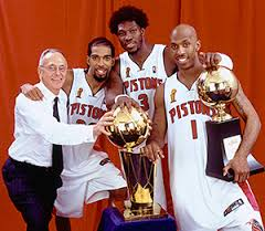 Detroit Pistons Glory Years