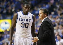 julius randle and john calipari