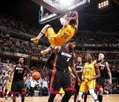 paul george dunks on lebron