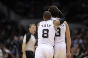 Patty Mills and Marco Belinelli