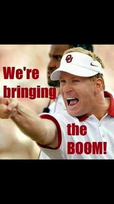 eatdrnkslpsprtz - #Countdown2Kickoff Here Comes the Boom #SoonerMagic